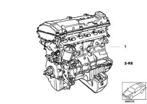 Original Parts for E36 320i M50 Sedan  Engine Short