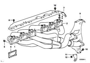 Original Parts for E36 M3 S50 Coupe  Engine Exhaust