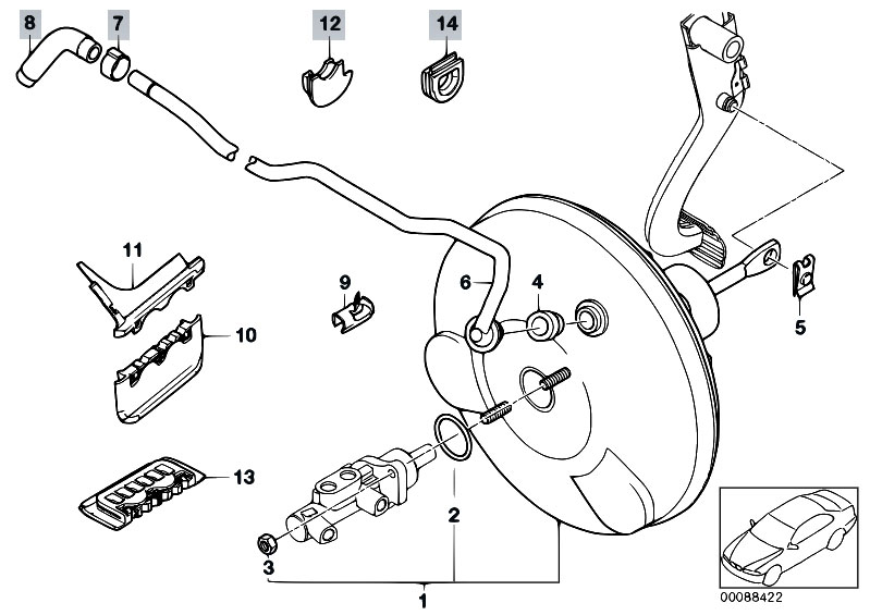 Original Parts for E46 316ti N42 Compact / Brakes/ Power
