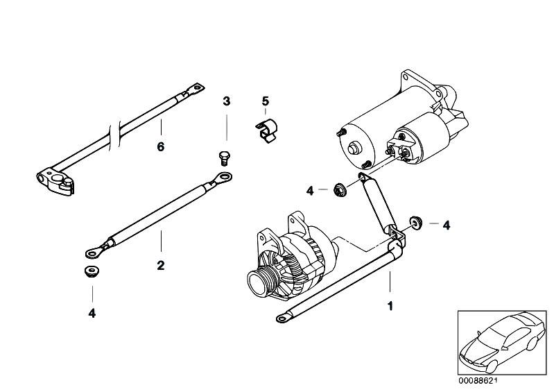 Original Parts for E46 316ti N42 Compact / Engine