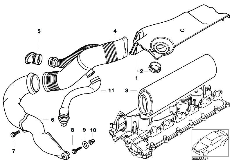 Original Parts for E39 525d M57 Touring / Fuel Preparation