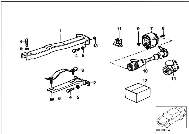 Original Parts for E36 318tds M41 Touring / Equipment