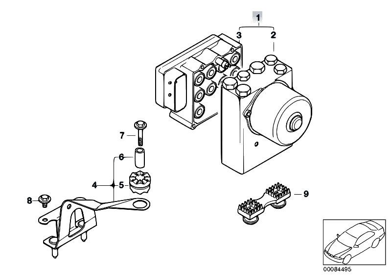 Original Parts for E46 316ti N42 Compact / Brakes/ Asc