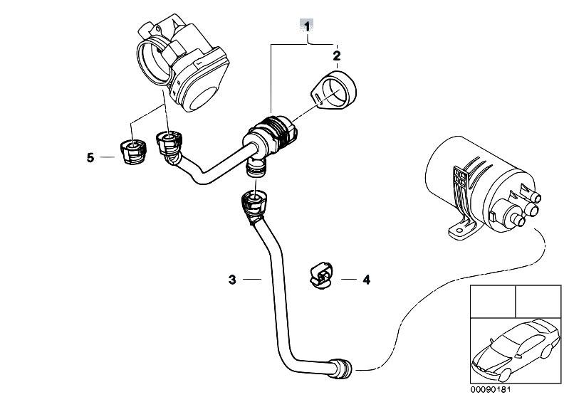 Original Parts for E46 316ti N42 Compact / Fuel