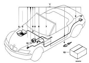 Original Parts for Z3 Z3 19 M44 Roadster  Audio