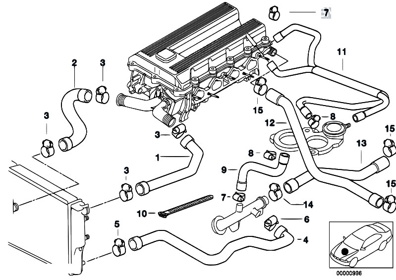 Bmw 318ti Cooling System Diagram, Bmw, Free Engine Image