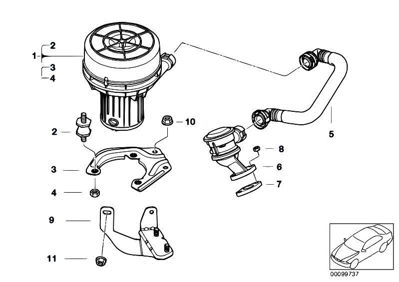Original Parts for E46 318ti N42 Compact / Engine