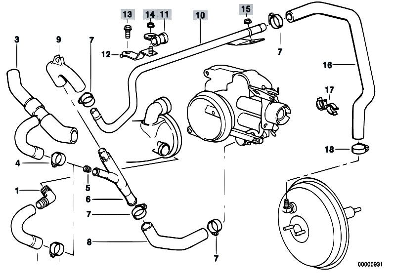 Bmw E46 Engine Intake Manifold Diagram. Bmw. Wiring