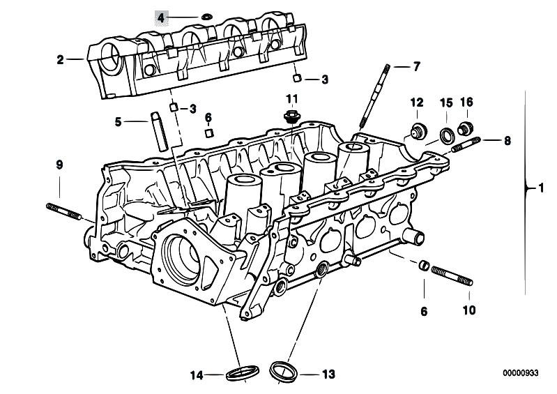 Original Parts for E30 318is M42 2 doors / Engine