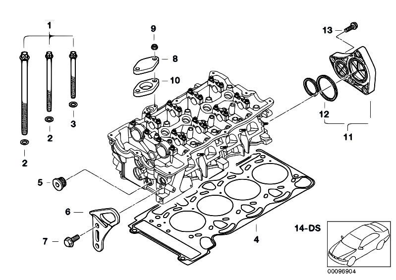 Original Parts for E87 116i N45 5 doors / Engine/ Cylinder