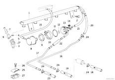 Original Parts for E36 M3 S50 Coupe / Fuel Preparation