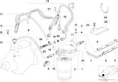 Original Parts for E36 318tds M41 Touring / Fuel