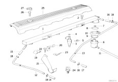 Original Parts for E34 525i M50 Touring / Fuel Preparation