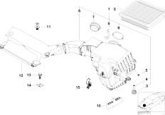 Original Parts for E46 316Ci M43 Coupe / Fuel Preparation