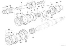 Original Parts for E30 318i M40 2 doors / Manual