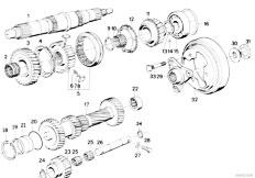 Original Parts for E34 535i M30 Sedan / Manual