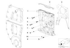 Original Parts for E46 316i 1.9 M43 Sedan / Engine