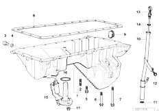 Bmw E39 Valve Cover Diagram, Bmw, Free Engine Image For