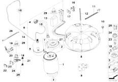 Original Parts for E53 X5 3.0d M57N SAV / Rear Axle