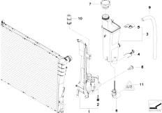 Original Parts for E46 320d M47 Touring / Radiator/ Fan