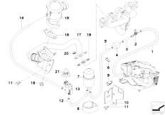 Original Parts for E46 316Ci M43 Coupe / Engine/ Emission