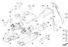 Original Parts for F01 750i N63 Sedan / Engine/ Timing