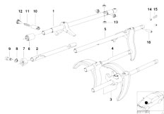Original Parts for E34 M5 3.8 S38 Sedan / Manual