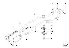 Original Parts for E60 530d M57N Sedan / Radiator/ Heat