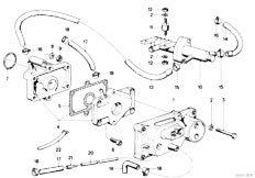 Original Parts for E21 323i M20 Sedan / Fuel Preparation