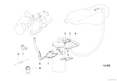 Original Parts for E34 520i M50 Touring / Fuel Preparation