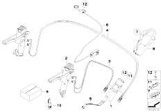 Original Parts for E85 Z4 2.5i M54 Roadster / Sliding Roof