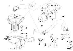 Original Parts for E60 545i N62 Sedan / Engine/ Crankcase