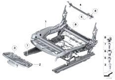 Original Parts for E89 Z4 30i N52N Roadster / Seats