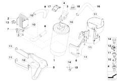 Original Parts for E46 330d M57 Touring / Fuel Preparation