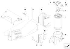 Original Parts for E53 X5 3.0d M57 SAV / Fuel Preparation