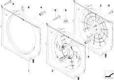 Original Parts for E46 330i M54 Sedan / Radiator/ Cooling