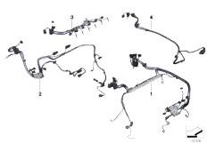 Original Parts for F02 740Li N54 Sedan  Engine Electrical