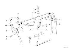 Original Parts for E30 M3 S14 Cabrio / Fuel Preparation