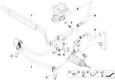 Original Parts for E83N X3 2.0d M47N2 SAV / Steering