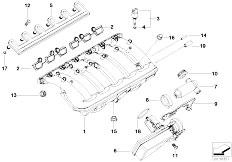 Original Parts for E46 320i M52 Sedan / Engine/ Air Pump F