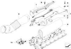 Original Parts for E65 730d M57N Sedan / Fuel Preparation