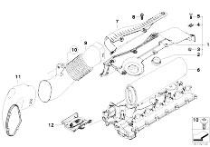 Original Parts for E60 530d M57N Sedan / Fuel Preparation