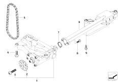 Original Parts for E60 530d M57N Sedan / Engine/ Vacuum
