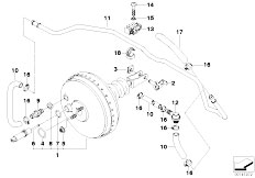 Original Parts for E36 316i M40 Sedan / Brakes/ Parking