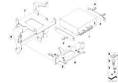 Original Parts for E61 520d M47N2 Touring / Audio