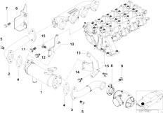 Original Parts for E46 320d M47 Sedan / Engine/ Vacuum