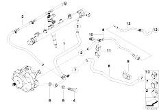 Original Parts for E83 X3 2.0d M47N2 SAV / Fuel