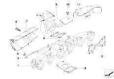 Original Parts for E60 535d M57N Sedan / Engine/ Intake