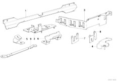 Original Parts for E32 750iL M70 Sedan / Engine Electrical