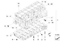 Original Parts for E60 523i N52 Sedan / Engine/ Cylinder